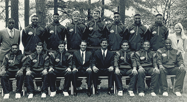 First Men's Basketball Program
